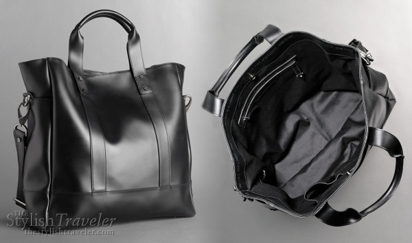 Kenneth Cole Rubber Tote - Awearness collection to support Fight against HIV/AIDS