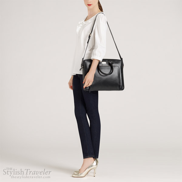 Kate Spade Tarrytown Laptop Janine leather laptop bag