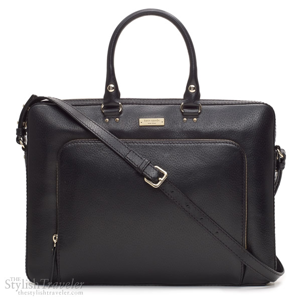 Kate Spade Tarrytown Laptop Janine Leather Sling Bag