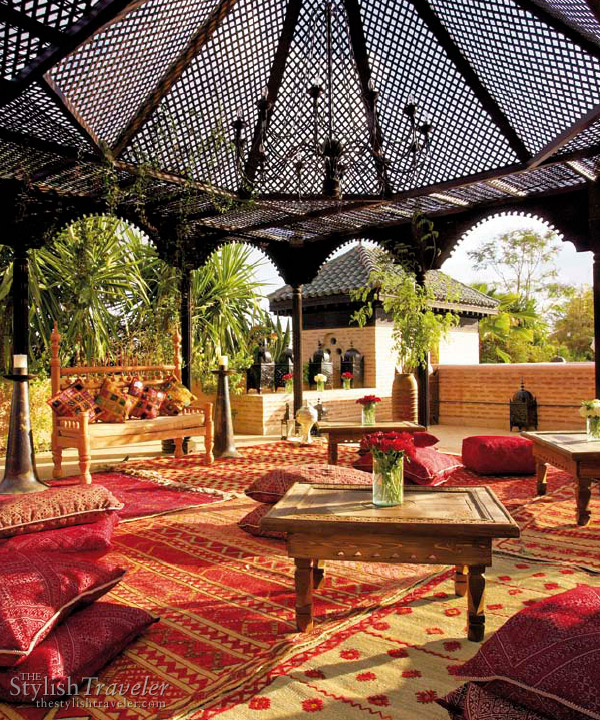 La Sultana Marrakech - stylish hip hotel in Marrakesh, Morocco