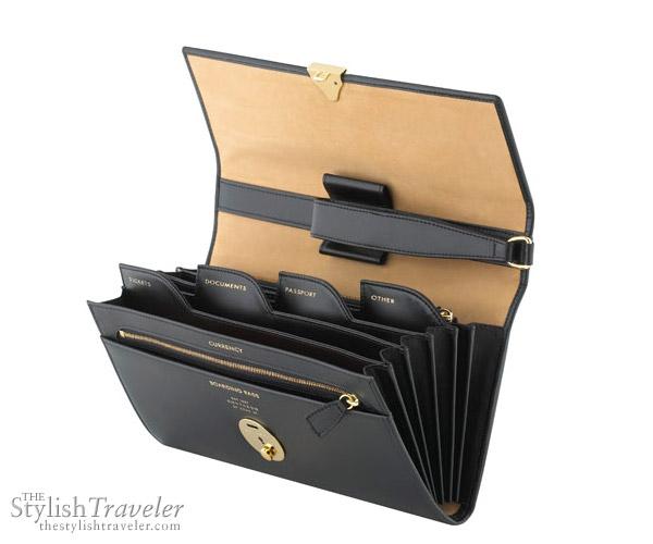 Smythson Lockable Travel Wallet