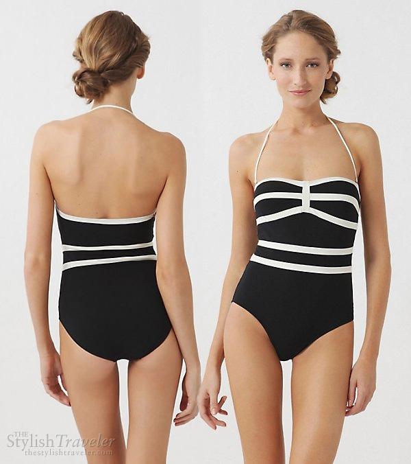 halter neck swimsuit bathing suit