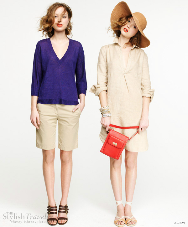 jcrew summer 2011 - the best looks for Spring and Summer vacation