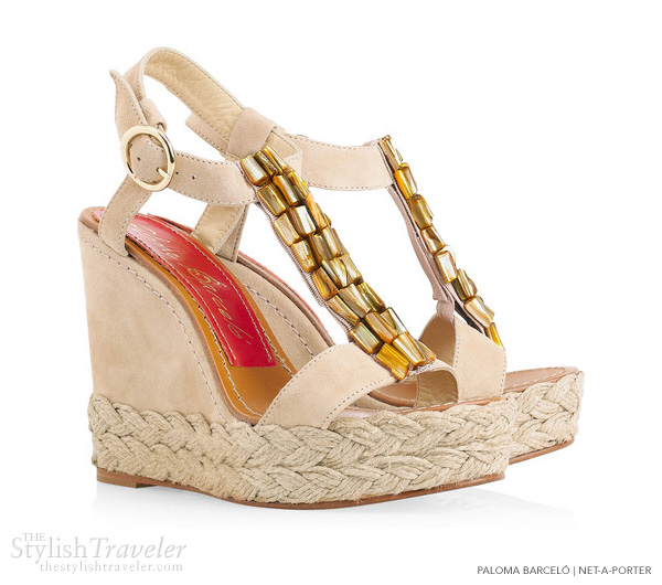 paloma barcelo agama suede wedges